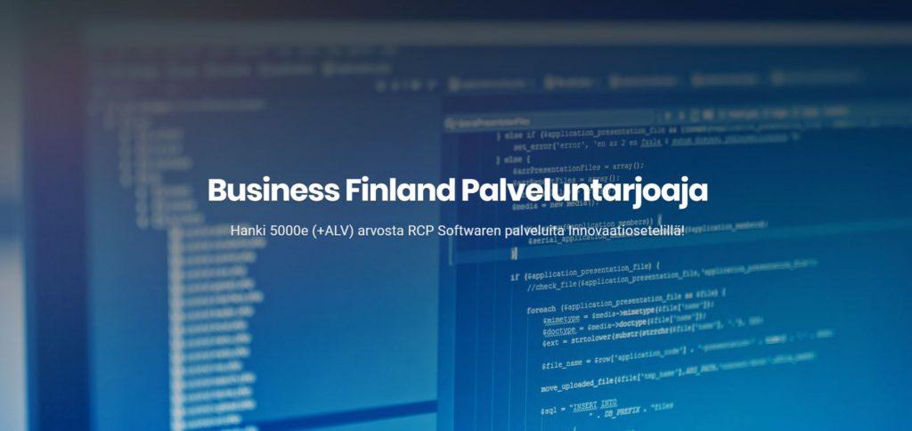 Business Finland Palveluntarjoaja